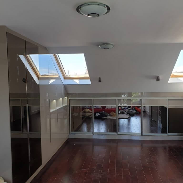 Sloping Ceilings Fitted Units