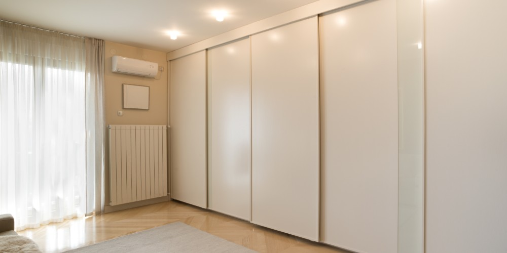 High Gloss Sliding Wardrobes