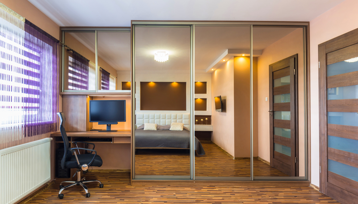 Bedroom Office Combo