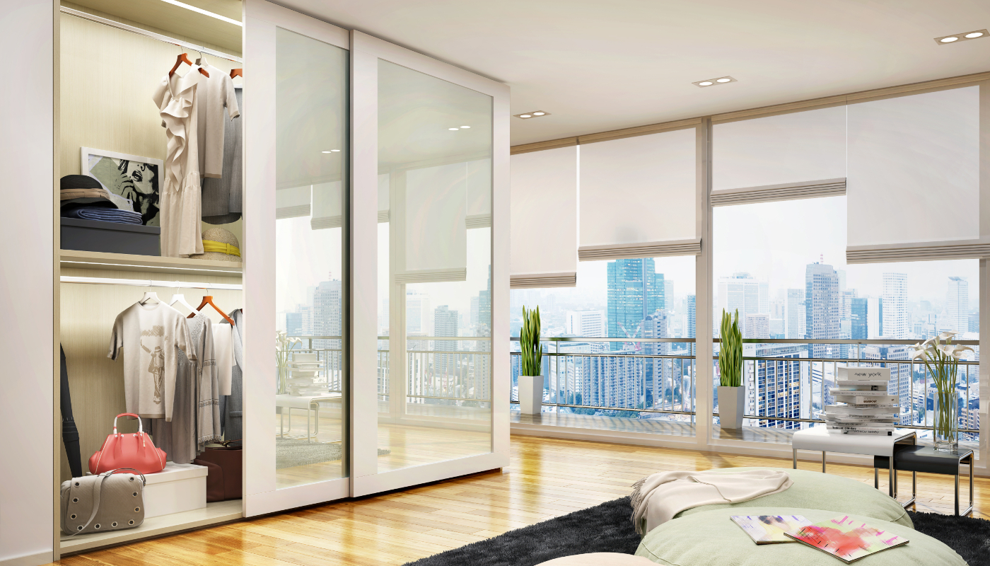 Mounted Fitted Wardrobe